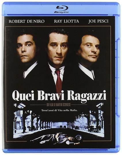 Quei bravi ragazzi<span>.</span> Edizione speciale di Martin Scorsese - Blu-ray
