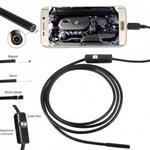 Telecamera Endoscopio compatibile smartphone android con funzione OTG e PC dotato di 6 led per illuminazione regolabile - Ip67