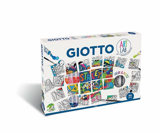 Puzzle da colorare Giotto Art Lab Color&Puzzle
