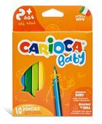 Matitone triangolare maxi Carioca. Confezione da 10 pezzi