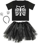 Widmann costume scheletro. Da 3 anni