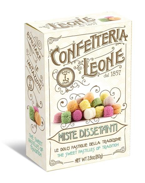 Pastiglie miste dissetanti, Confetteria Leone - 80 g - 2