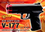 Pistola V-177 Air Soft Cal. 6 Mm.