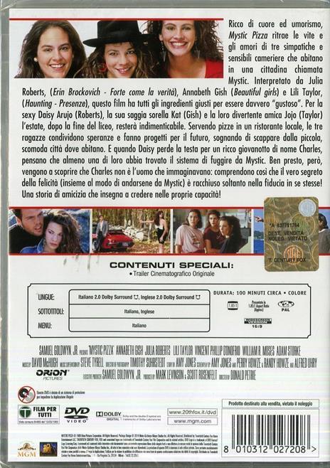 Mystic Pizza di Donald Petrie - DVD - 2