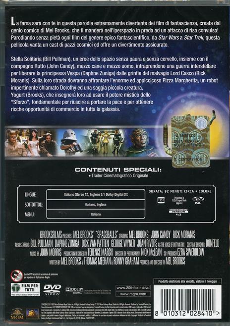 Balle spaziali di Mel Brooks - DVD - 2