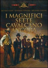 I magnifici sette cavalcano ancora di George McCowan - DVD