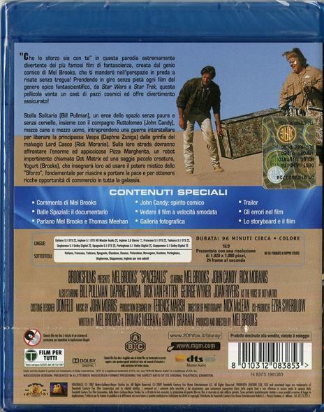 Balle spaziali di Mel Brooks - Blu-ray - 2