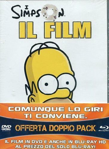 Simpson. Il film (2 Blu-ray) di David Silverman