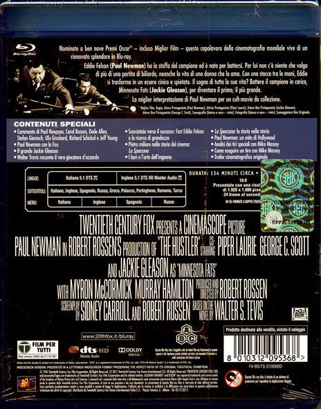 Lo spaccone di Robert Rossen - Blu-ray - 2