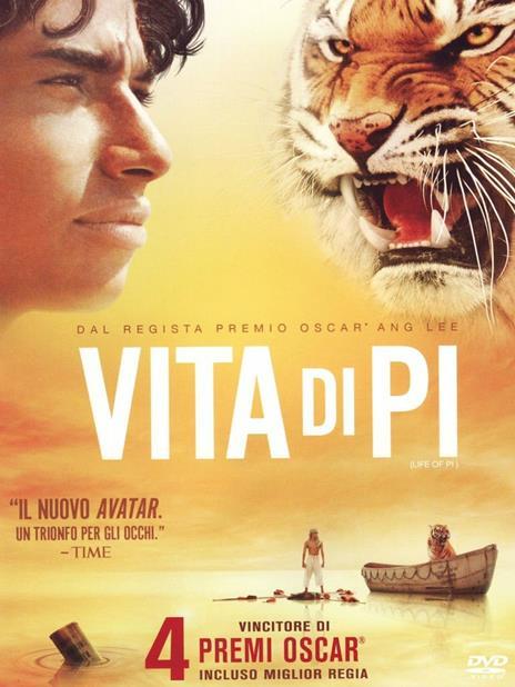 Vita di Pi di Ang Lee - DVD