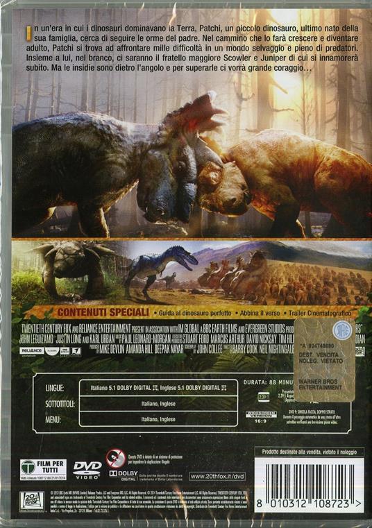 A spasso con i dinosauri di Barry Cook,Neil Nightingale - DVD - 2