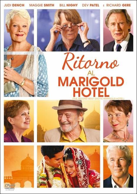 Ritorno al Marigold Hotel di John Madden - DVD