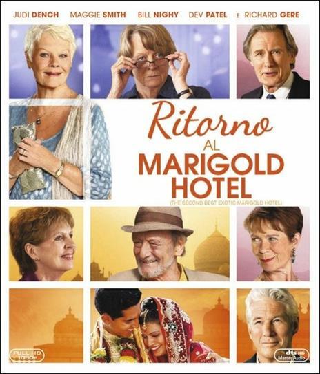 Ritorno al Marigold Hotel di John Madden - Blu-ray