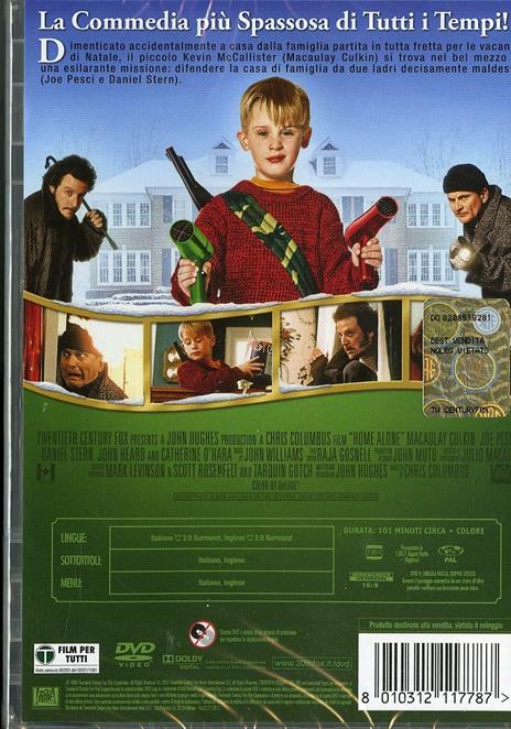 Mamma, ho perso l'aereo di Chris Columbus - DVD - 2