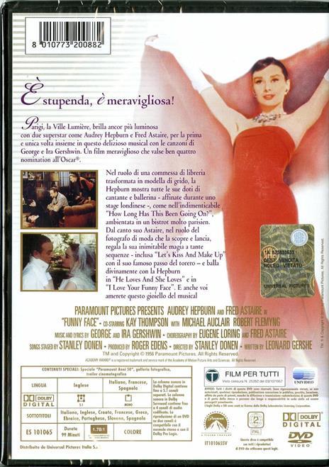 Cenerentola a Parigi di Stanley Donen - DVD - 2