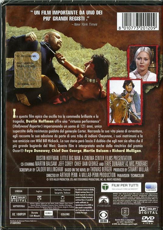 Il piccolo grande uomo di Arthur Penn - DVD - 3