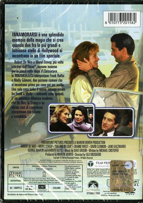 Innamorarsi di Ulu Grosbard - DVD - 2
