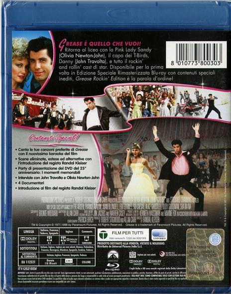 Grease di Randal Kleiser - Blu-ray - 2