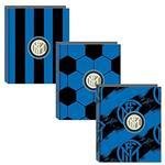 Quaderno copertina ad anelli Inter