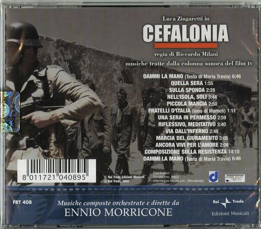 Cefalonia (Colonna sonora) - CD Audio di Ennio Morricone - 2