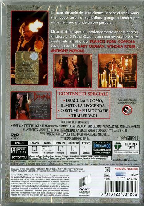 Dracula di Francis Ford Coppola - DVD - 2