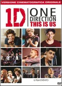 One Direction. This Is Us di Morgan Spurlock - DVD