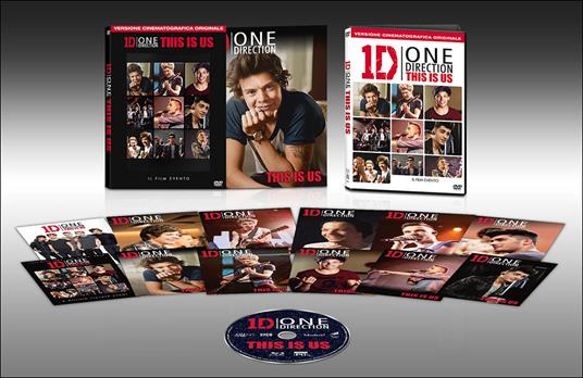 One Direction. This Is Us di Morgan Spurlock - DVD - 2