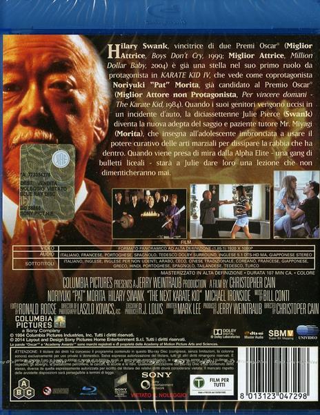 Karate Kid 4 di Christopher Cain - Blu-ray - 2
