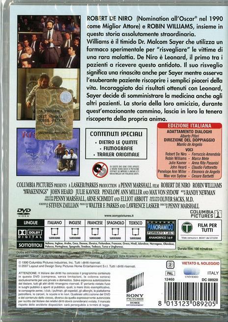 Risvegli di Penny Marshall - DVD - 2