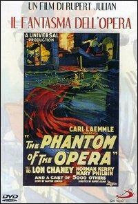 Il fantasma dell'Opera di Rupert Julian - DVD
