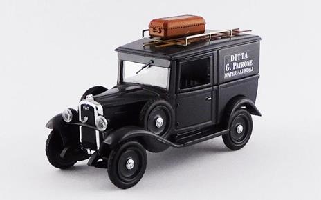 Fiat Balilla 1936 Ditta G. Patrone Materiali Edili 1:43 Model Ri4518