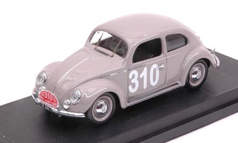 Volkswagen Vw Maggiolino #310 248Th Monte Carlo 1954 P. Mourier / B. Ramsing 1:43 Model Ri4558