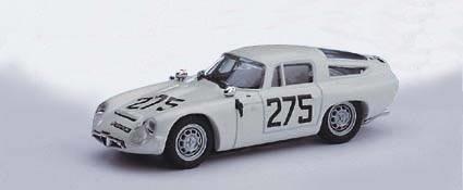 Alfa Romeo Tz1 #275 3Rd Coppa F.I.S.A. Fisa Monza 1963 G. Baghetti 1:43 Model Bt9060 - 2