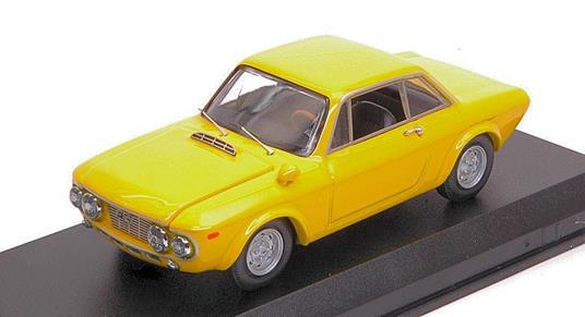 Lancia Fulvia Coupè 1600 Hf Fanalone 1968 Yellow 1:43 Model Bt9677