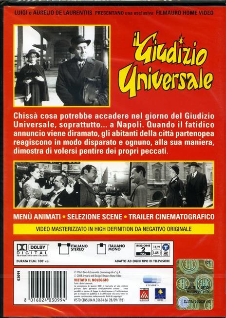 Il giudizio universale di Vittorio De Sica - DVD - 2