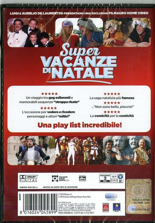 Super vacanze di natale di Paolo Ruffini - DVD - 2