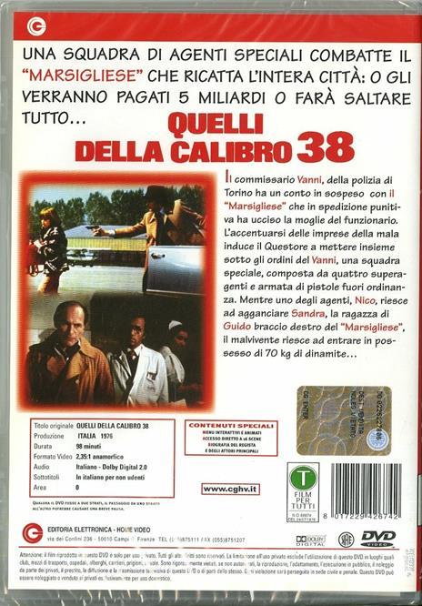 Quelli della calibro 38 di Massimo Dallamano - DVD - 2