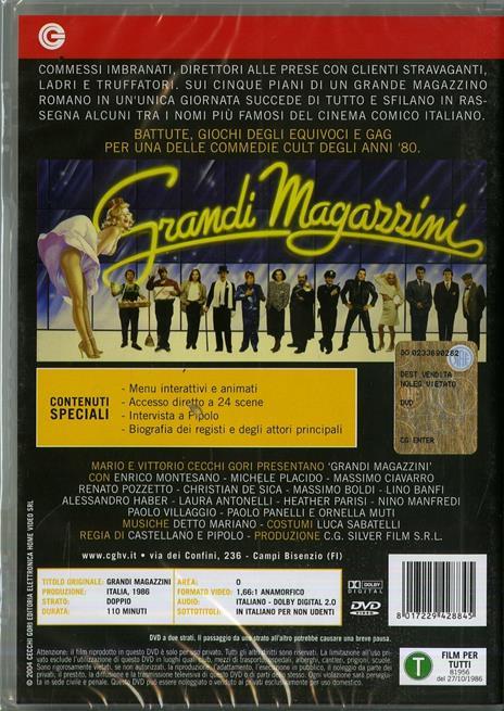 Grandi magazzini di Franco Castellano,Pipolo - DVD - 2