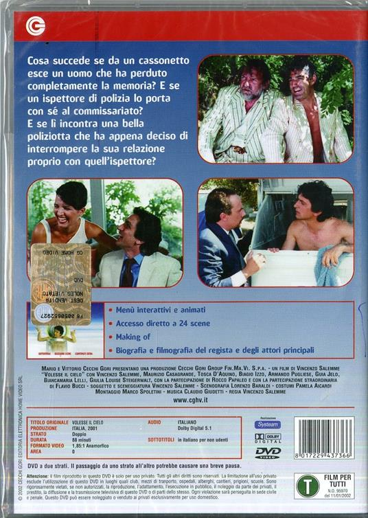 Volesse il Cielo di Vincenzo Salemme - DVD - 2