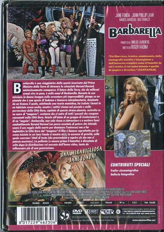 Barbarella<span>.</span> Special Edition di Roger Vadim - DVD - 2