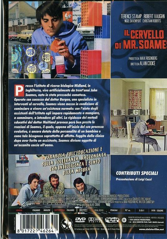 Il cervello di Mr. Soames di Alan Cooke - DVD - 2