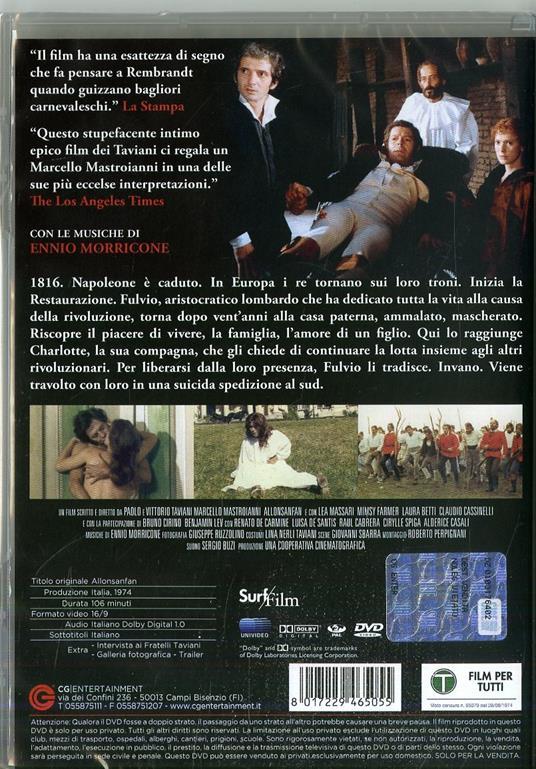 Allonsanfan di Paolo Taviani,Vittorio Taviani - DVD - 6