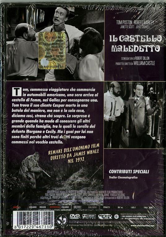 Il castello maledetto di William Castle - DVD - 2