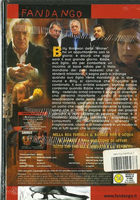 Shiner di John Irvin - DVD - 2