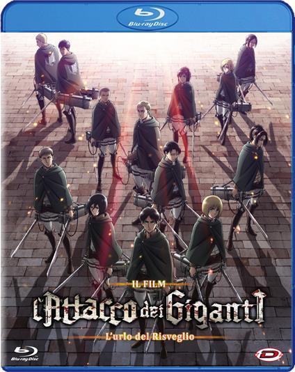 L' attacco dei giganti. Il film. L'urlo del risveglio (Blu-ray) di Masashi Koizuka - Blu-ray