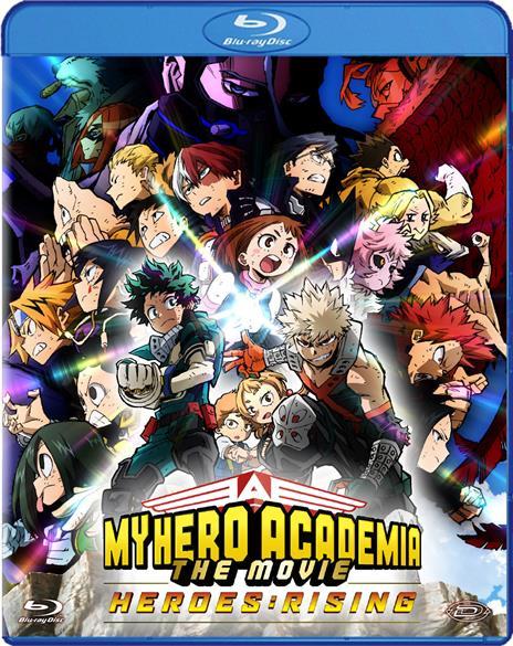My Hero Academia: The Movie - Heroes: Rising di Kenji Nagasaki - Blu-ray