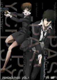 Psycho-Pass. Vol. 1 (2 DVD) di Naoyoshi Shiotani - DVD