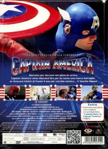 Capitan America<span>.</span> Collector's Edition di Albert Pyun - DVD - 2