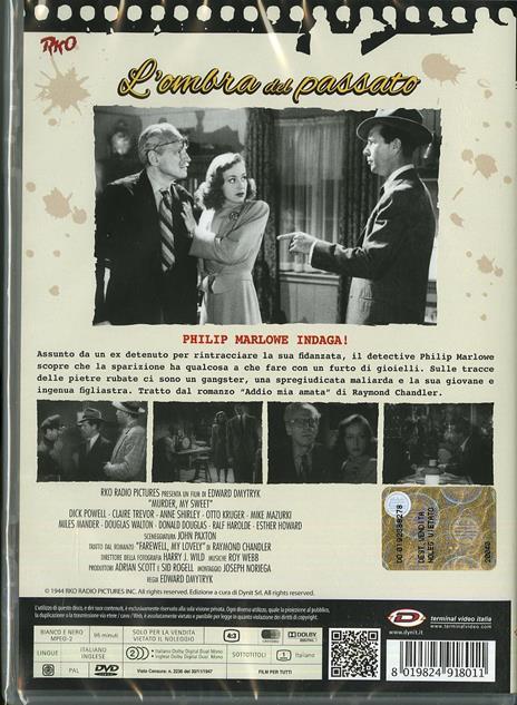 L' ombra del passato di Edward Dmytryk - DVD - 2
