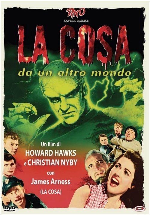 La cosa da un altro mondo di Christian Nyby,Howard Hawks - DVD